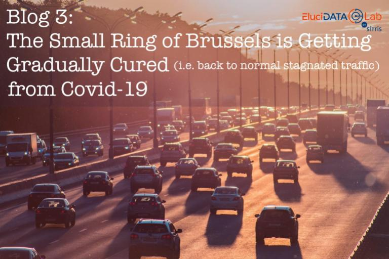 The Small Ring of Brussels is Getting Gradually Cured from Covid-19