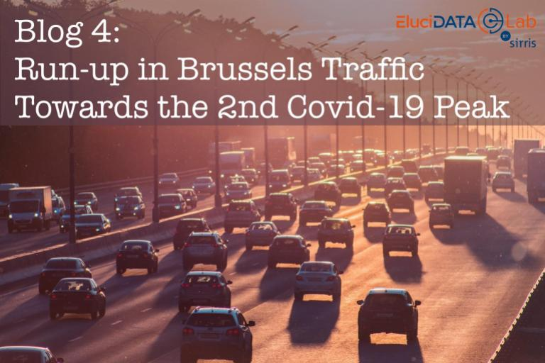 Run-up in Brussels Traffic Towards the 2nd Covid-19 Peak