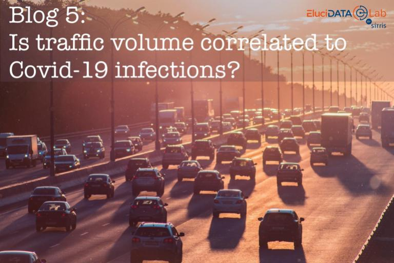 Is traffic volume correlated to Covid-19 infections?